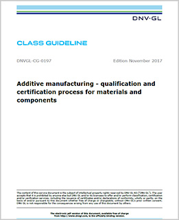 Additive Manufacturing Guideline