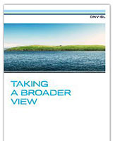 DNV GL Annual Report 2013 Frontpage image