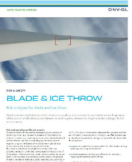 Blade and Ice throw
