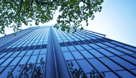 A tall building rising up to the sky as Link image for Environmental Training category