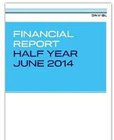 DNV GL 2014 first half year report