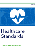 DNV GL branded booklet image for Healthcare Standards