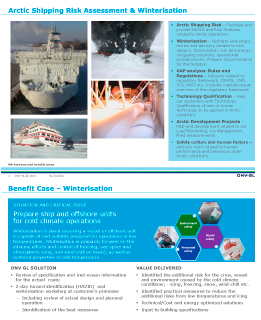 Artic Shipping Risk Assessment and Winterisation