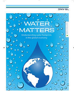 Water footprint services by DNV GL
