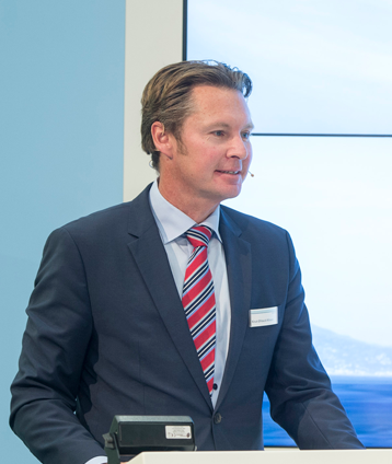 Knut Ørbeck-Nilssen, CEO of DNV GL – Maritime, SMM Press Conference