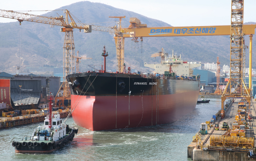 Sonangol Cazenga and her sister ship Maiombe are the first newbuilding projects
