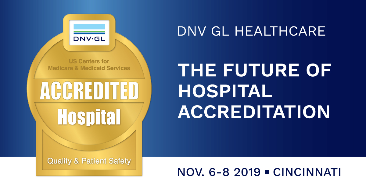 DNV GL Healthcare Symposium 2019 in Cincinnati, OH